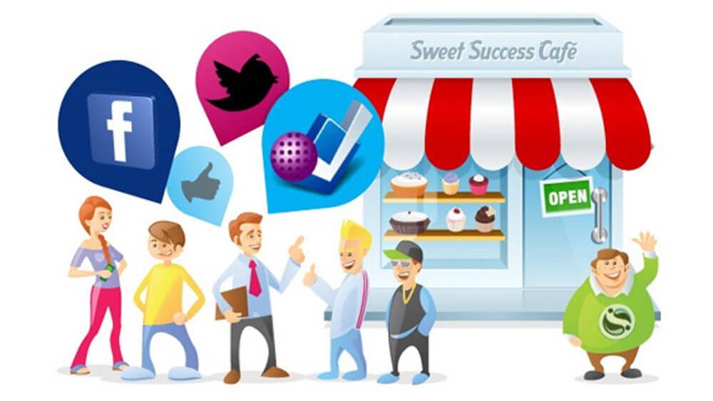 redes sociais ajudam a fazer negocios